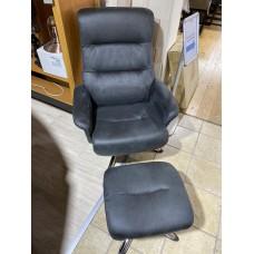 Texas Arm Chair & Footstool