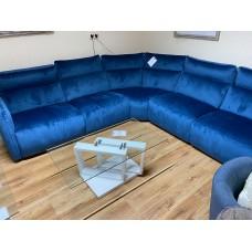 5895M Corner Sofa Blue