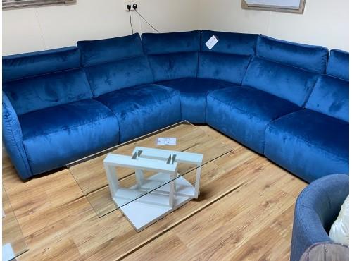 Hughie Doyle Furniture ¦ Gorey ¦ 5895M Corner Sofa Blue