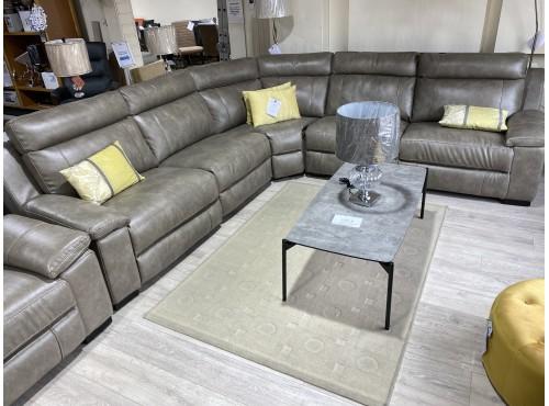 Hughie Doyle Furniture ¦ Gorey ¦ 1039m Corner Suite Brown