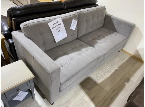 Hughie Doyle Furniture ¦ Gorey ¦ U501PB 3 Seater Silver