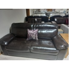 Cindy Leather 3 Seater