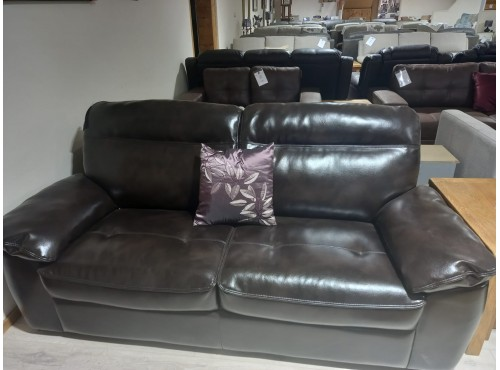 Hughie Doyle Furniture ¦ Gorey ¦ Carlow ¦ Wexford ¦ Cindy Leather 3 Seater 3 Seater