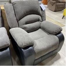 Novella Bubble 1 Seater Sofa Grey