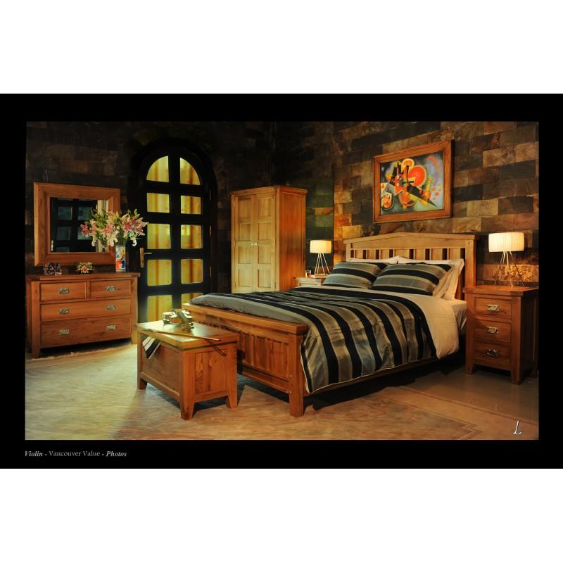 Hughie Doyle Furniture Vancouver king ft bed