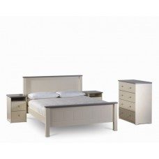 Chateau cream double 4ft Bed