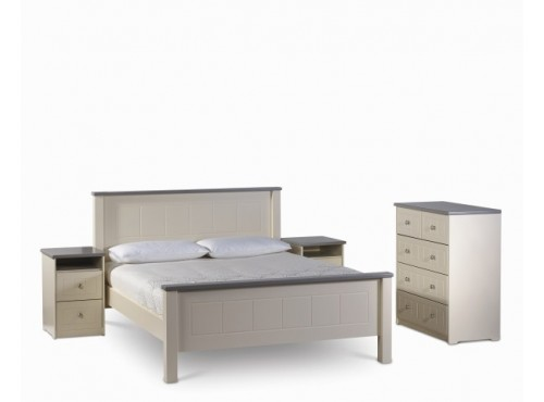 Hughie Doyle Furniture ¦ Gorey ¦ Carlow ¦ Wexford ¦ Chateau cream king 6ft Bed Beds & Bedframes