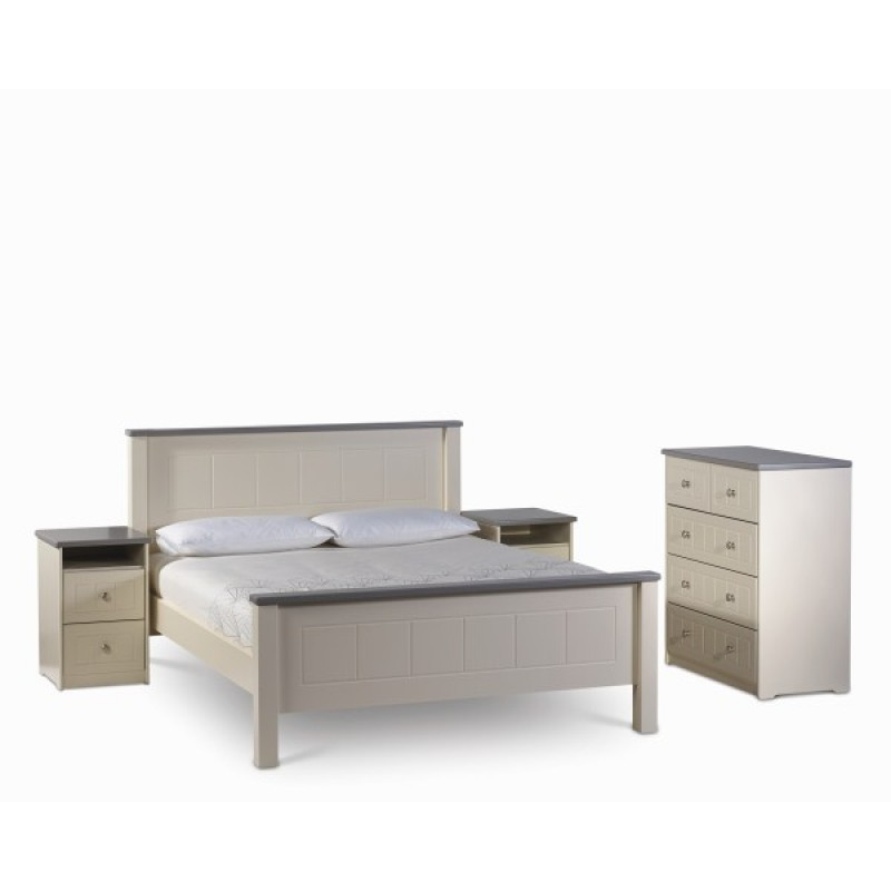Hughie Doyle Furniture Chateau Ccream King 6ft Bed