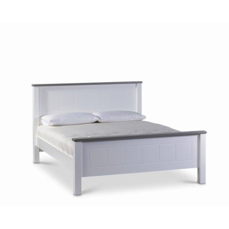 Hughie Doyle Furniture Chateau White Double 4 39 6ft Bed