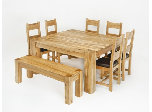 Hughie Doyle Furniture ¦ Gorey ¦ Carlow ¦ Wexford ¦ Linc 1.5M Square Solid Oak Dining Table Dining Sets