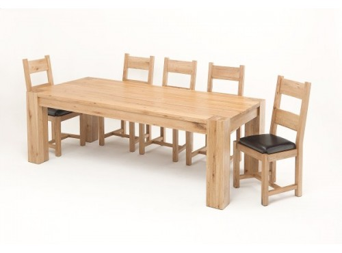 Hughie Doyle Furniture ¦ Gorey ¦ Carlow ¦ Wexford ¦ Linc 2.6M Solid Oak Dining Table Dining Sets