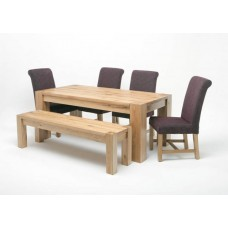 Linc 2.2M Solid Oak Table