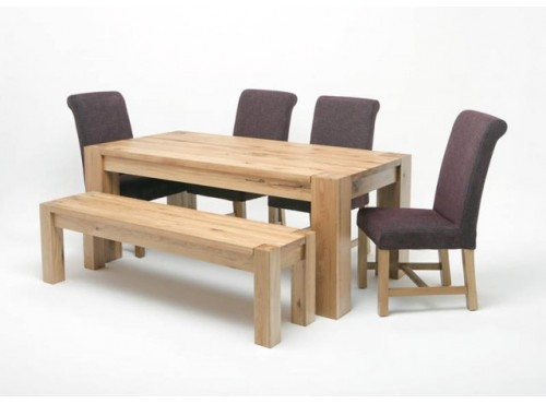 Hughie Doyle Furniture ¦ Gorey ¦ Carlow ¦ Wexford ¦ Linc 2.2M Solid Oak Table Dining Sets