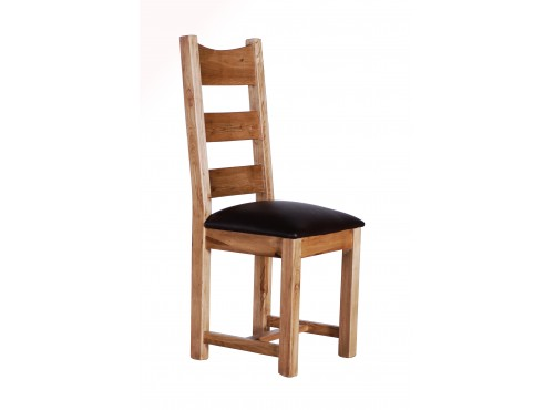 Hughie Doyle Furniture ¦ Gorey ¦ Carlow ¦ Wexford ¦ Provence Dining Timber Chair leather seat Dining Chair