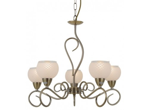 Hughie Doyle Furniture ¦ Gorey ¦ Carlow ¦ Wexford ¦ Amalia 5 Light Antique Brass Contemporary