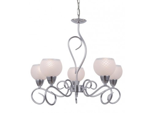 Hughie Doyle Furniture ¦ Gorey ¦ Carlow ¦ Wexford ¦ Amalia 5 Light Chrome Living