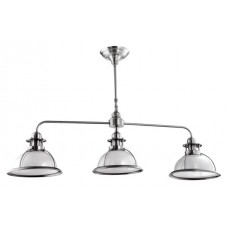 Ailva Pendant 3 Light satin nickel