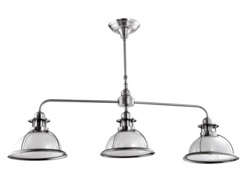 Hughie Doyle Furniture ¦ Gorey ¦ Carlow ¦ Wexford ¦ Ailva Pendant 3 Light satin nickel Kitchen
