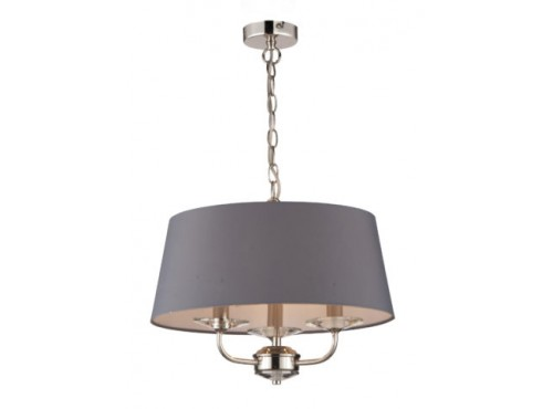 STYLO NICKEL PENDANT GREY SHADE