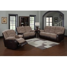 Nove Fabric Recliner Beige