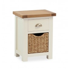 Suff nightstand with basket