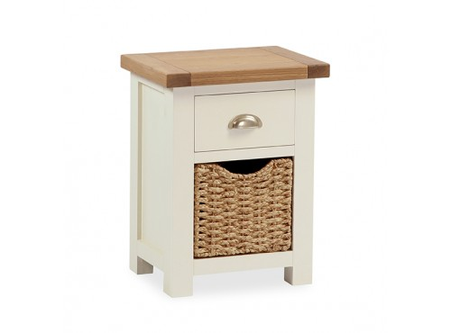 Hughie Doyle Furniture ¦ Gorey ¦ Carlow ¦ Wexford ¦ Suff nightstand with basket Night Stands/Lockers