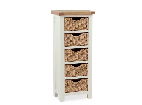 Hughie Doyle Furniture ¦ Gorey ¦ Carlow ¦ Wexford ¦ Suff tallboy with basket Chest