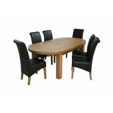 Vinnie Oval dining table